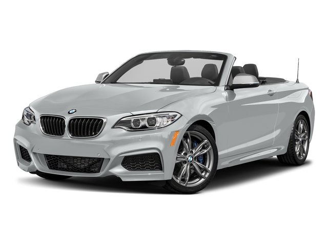 Glacier Silver Metallic 2017 BMW 2 Series Pictures 2 Series Convertible 2D M240i I6 Turbo photos front view