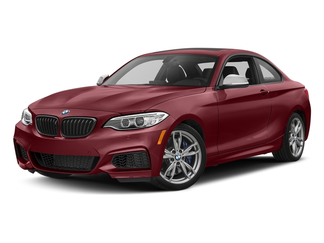 Melbourne Red Metallic 2017 BMW 2 Series Pictures 2 Series Coupe 2D M240i I6 Turbo photos front view
