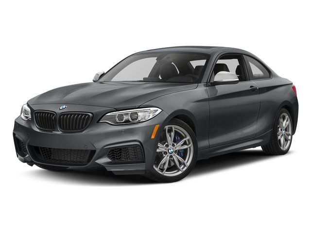 Mineral Gray Metallic 2017 BMW 2 Series Pictures 2 Series Coupe 2D M240i I6 Turbo photos front view