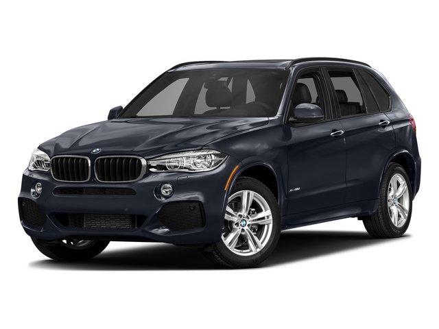 Azurite Black Metallic 2017 BMW X5 Pictures X5 Utility 4D 35d AWD I6 T-Diesel photos front view
