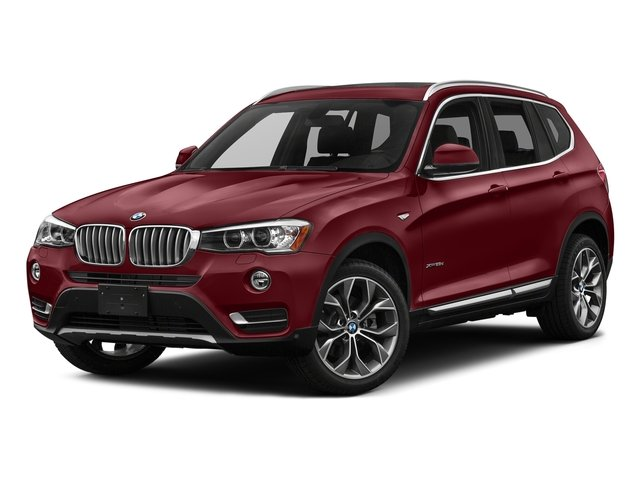 Melbourne Red Metallic 2017 BMW X3 Pictures X3 Utility 4D 28i AWD I4 Turbo photos front view
