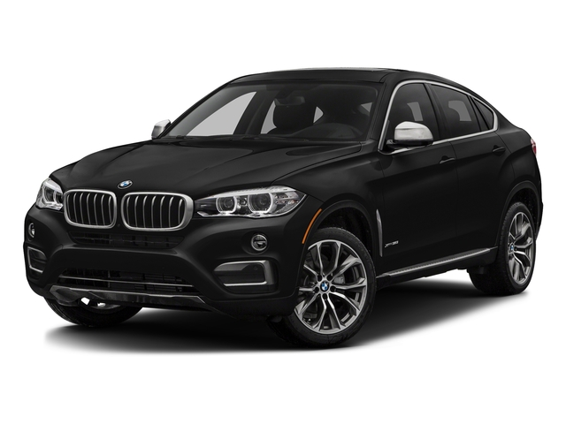 Jet Black 2017 BMW X6 Pictures X6 Utility 4D sDrive35i 2WD I6 Turbo photos front view