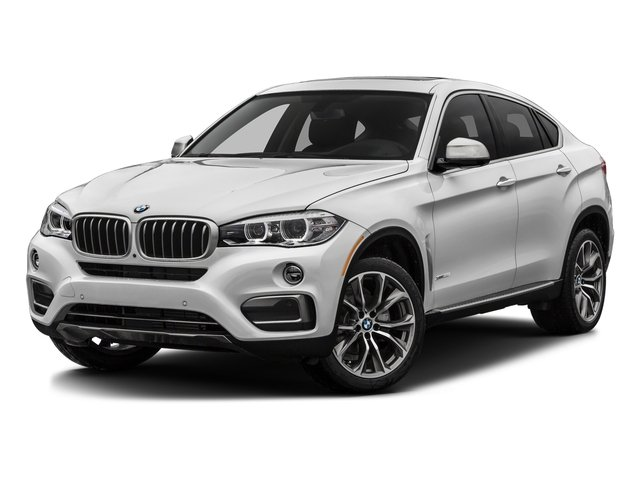 Mineral White Metallic 2017 BMW X6 Pictures X6 Utility 4D sDrive35i 2WD I6 Turbo photos front view