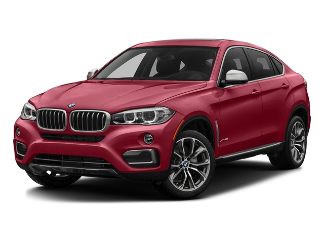 Flamenco Red Metallic 2017 BMW X6 Pictures X6 Utility 4D sDrive35i 2WD I6 Turbo photos front view