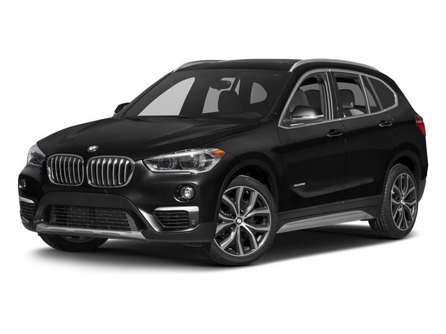 Jet Black 2017 BMW X1 Pictures X1 Utility 4D 28i 2WD I4 Turbo photos front view