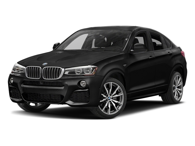 Black Sapphire Metallic 2017 BMW X4 Pictures X4 Utility 4D 28i AWD I4 Turbo photos front view