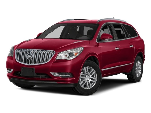 Crimson Red Tintcoat 2017 Buick Enclave Pictures Enclave AWD 4dr Premium photos front view