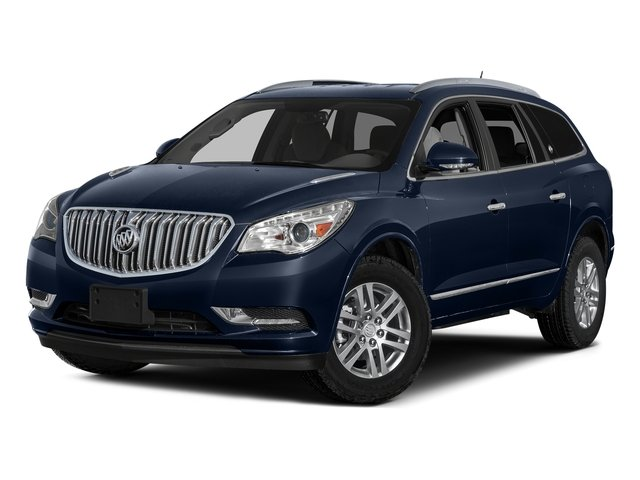 Dark Sapphire Blue Metallic 2017 Buick Enclave Pictures Enclave AWD 4dr Premium photos front view