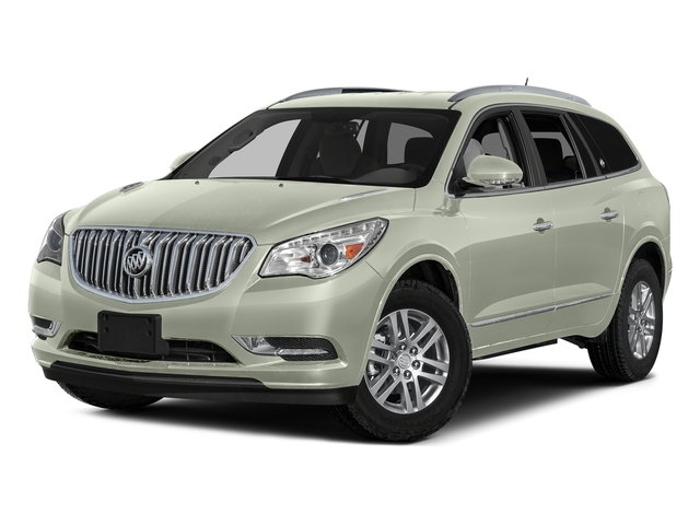 White Frost Tricoat 2017 Buick Enclave Pictures Enclave AWD 4dr Leather photos front view