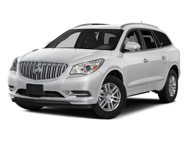 Summit White 2017 Buick Enclave Pictures Enclave AWD 4dr Premium photos front view