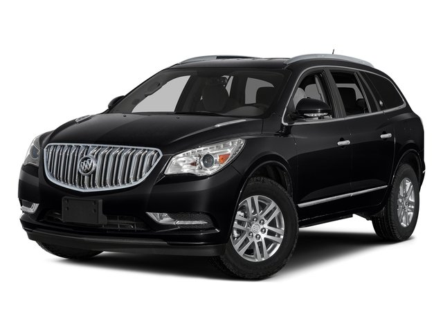 Ebony Twilight Metallic 2017 Buick Enclave Pictures Enclave Utility 4D Premium 2WD V6 photos front view
