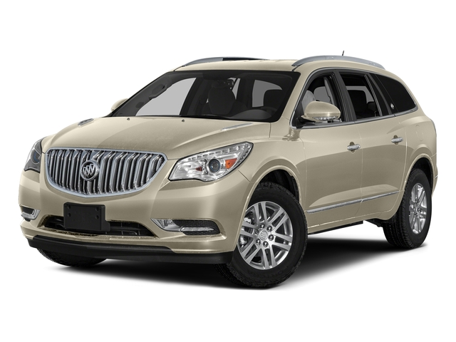 Sparkling Silver Metallic 2017 Buick Enclave Pictures Enclave AWD 4dr Leather photos front view