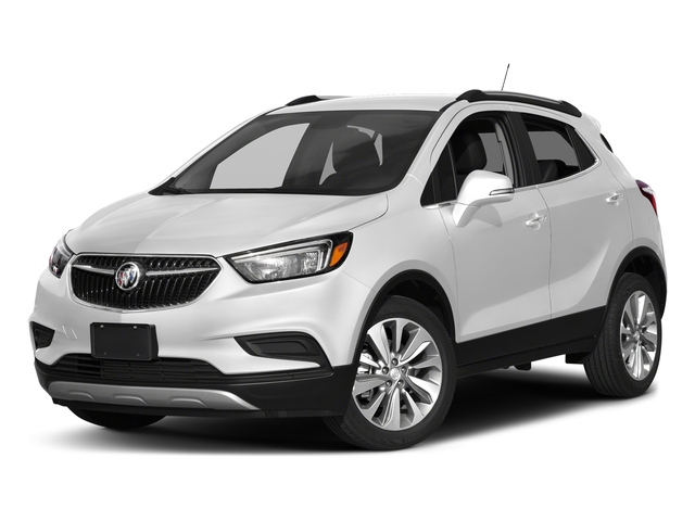 Summit White 2017 Buick Encore Pictures Encore AWD 4dr Preferred II photos front view