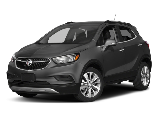 Graphite Gray Metallic 2017 Buick Encore Pictures Encore AWD 4dr Preferred II photos front view