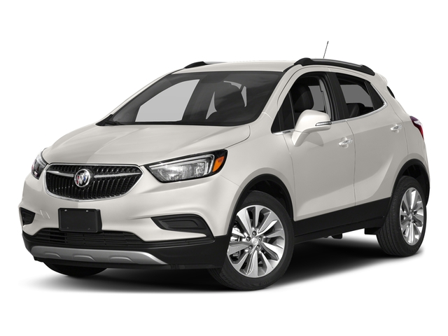 White Frost Tricoat 2017 Buick Encore Pictures Encore AWD 4dr Preferred II photos front view