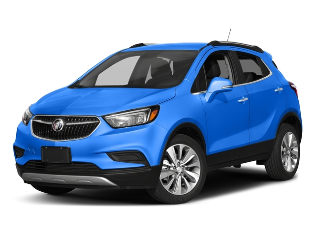 Coastal Blue Metallic 2017 Buick Encore Pictures Encore AWD 4dr Preferred II photos front view