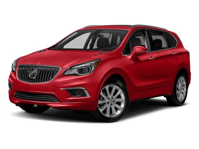 Chili Red Metallilc 2017 Buick Envision Pictures Envision AWD 4dr Essence photos front view