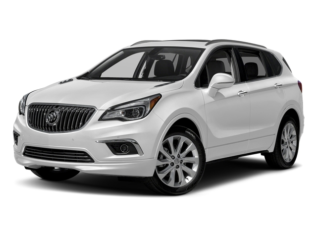 Summit White 2017 Buick Envision Pictures Envision FWD 4dr photos front view