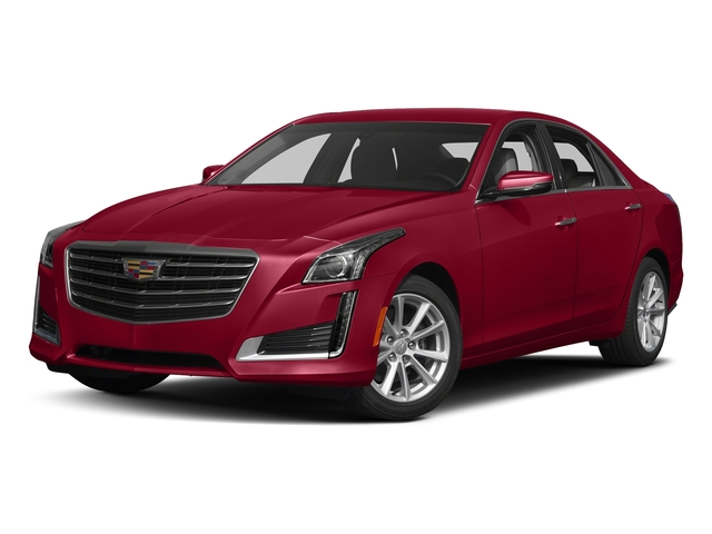 Red Obsession Tintcoat 2017 Cadillac CTS Sedan Pictures CTS Sedan 4D AWD I4 Turbo photos front view
