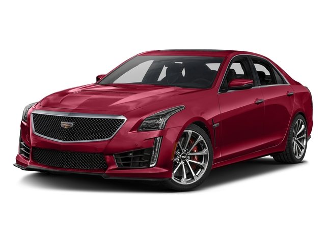 Red Obsession Tintcoat 2017 Cadillac CTS-V Sedan Pictures CTS-V Sedan 4D V-Series V8 photos front view