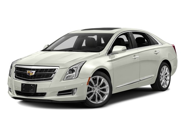Crystal White Tricoat 2017 Cadillac XTS Pictures XTS Sedan 4D Luxury AWD V6 photos front view