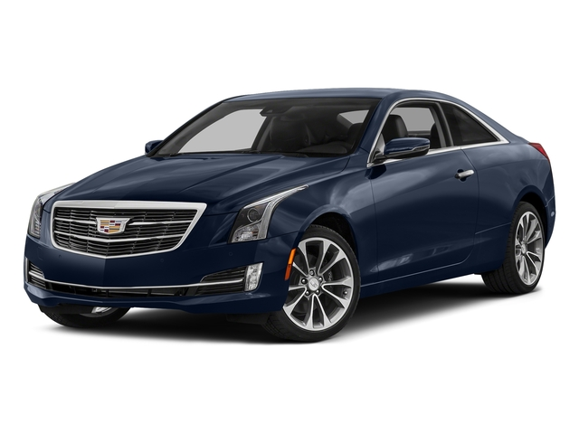 Dark Adriatic Blue Metallic 2017 Cadillac ATS Coupe Pictures ATS Coupe 2D Premium Performance V6 photos front view