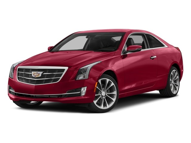 Red Obsession Tintcoat 2017 Cadillac ATS Coupe Pictures ATS Coupe 2D Premium Performance V6 photos front view