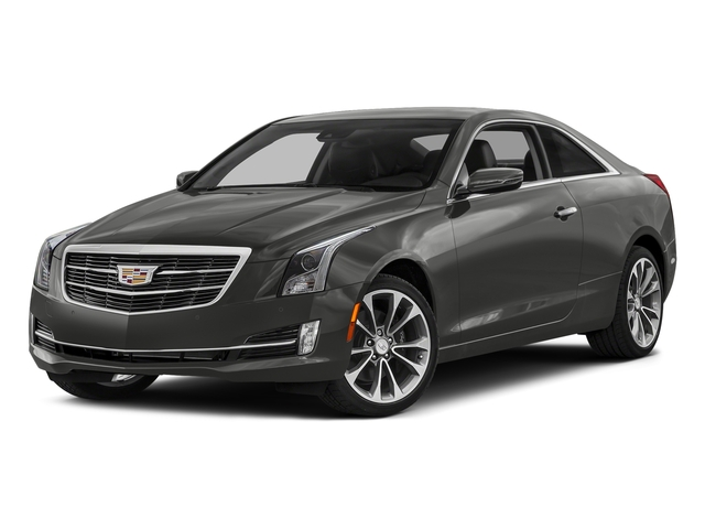 Moonstone Metallic 2017 Cadillac ATS Coupe Pictures ATS Coupe 2D Premium Performance V6 photos front view