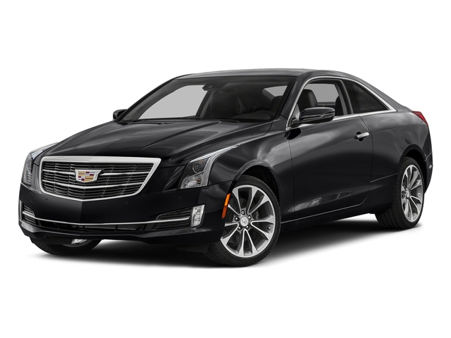 Stellar Black Metallic 2017 Cadillac ATS Coupe Pictures ATS Coupe 2D Premium Performance V6 photos front view