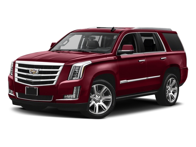 Red Passion Tintcoat 2017 Cadillac Escalade Pictures Escalade Utility 4D Premium Luxury 2WD V8 photos front view