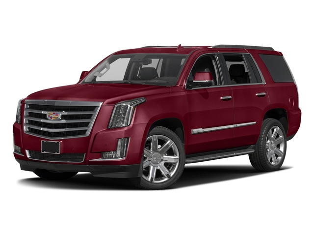 Red Passion Tintcoat 2017 Cadillac Escalade Pictures Escalade Utility 4D Luxury 2WD V8 photos front view