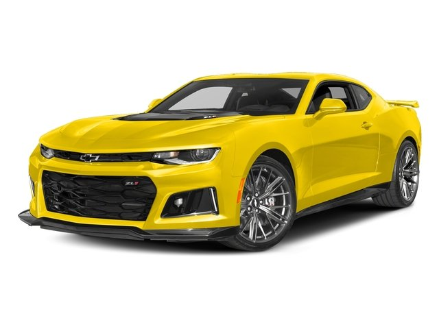 Bright Yellow 2017 Chevrolet Camaro Pictures Camaro 2dr Cpe ZL1 photos front view
