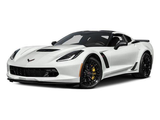 Arctic White 2017 Chevrolet Corvette Pictures Corvette 2dr Z06 Cpe w/1LZ photos front view