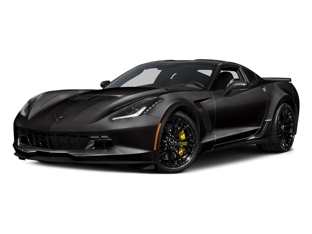 Black 2017 Chevrolet Corvette Pictures Corvette 2dr Z06 Cpe w/1LZ photos front view
