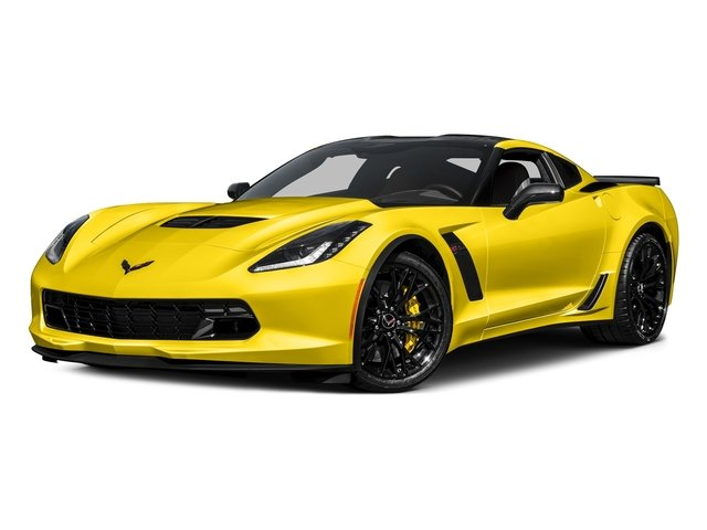 Corvette Racing Yellow Tintcoat 2017 Chevrolet Corvette Pictures Corvette 2dr Z06 Cpe w/1LZ photos front view