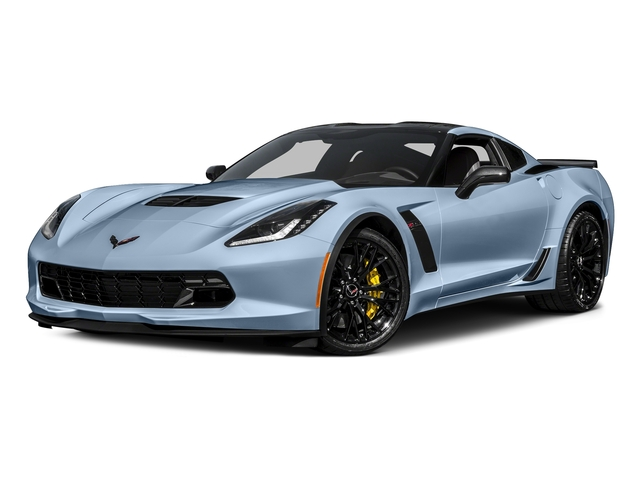 Sterling Blue Metallic 2017 Chevrolet Corvette Pictures Corvette 2dr Z06 Cpe w/1LZ photos front view