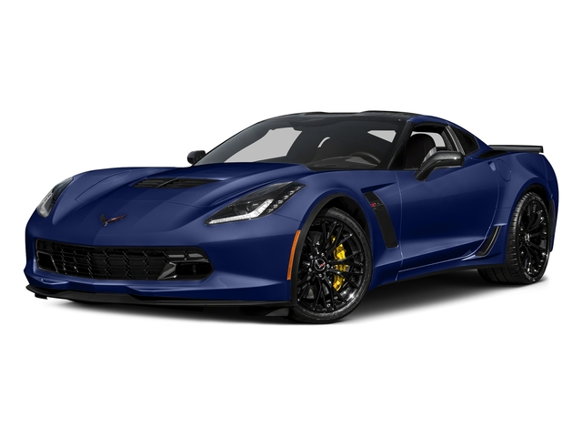 Admiral Blue Metallic 2017 Chevrolet Corvette Pictures Corvette 2dr Z06 Cpe w/1LZ photos front view