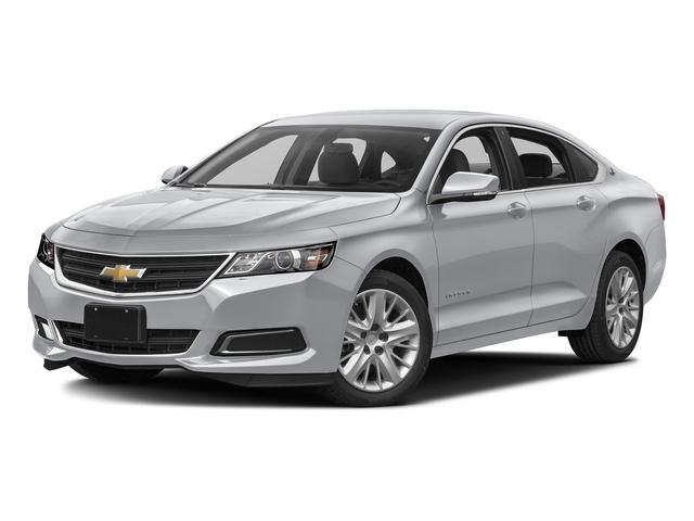 Silver Ice Metallic 2017 Chevrolet Impala Pictures Impala 4dr Sdn LS w/1FL photos front view