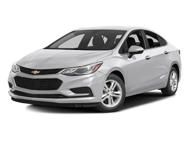 Silver Ice Metallic 2017 Chevrolet Cruze Pictures Cruze 4dr Sdn 1.6L LT w/1SH photos front view