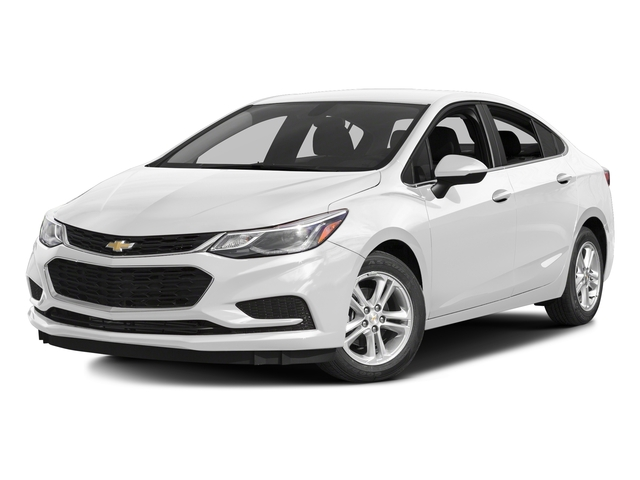 Summit White 2017 Chevrolet Cruze Pictures Cruze 4dr Sdn 1.6L LT w/1SH photos front view