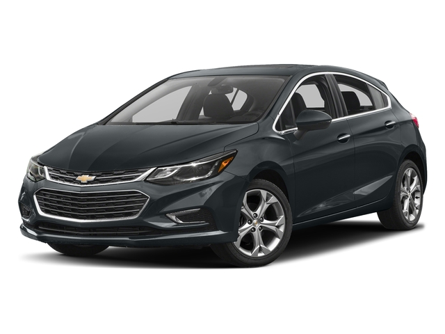 Nightfall Gray Metallic 2017 Chevrolet Cruze Pictures Cruze 4dr HB 1.4L Premier w/1SF photos front view
