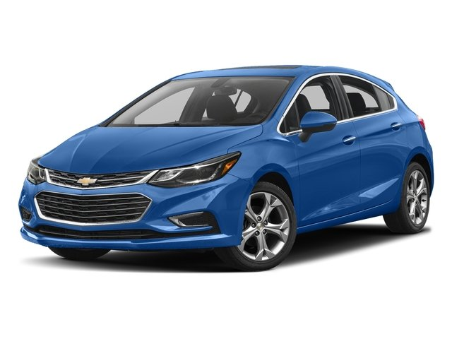 Kinetic Blue Metallic 2017 Chevrolet Cruze Pictures Cruze 4dr HB 1.4L Premier w/1SF photos front view
