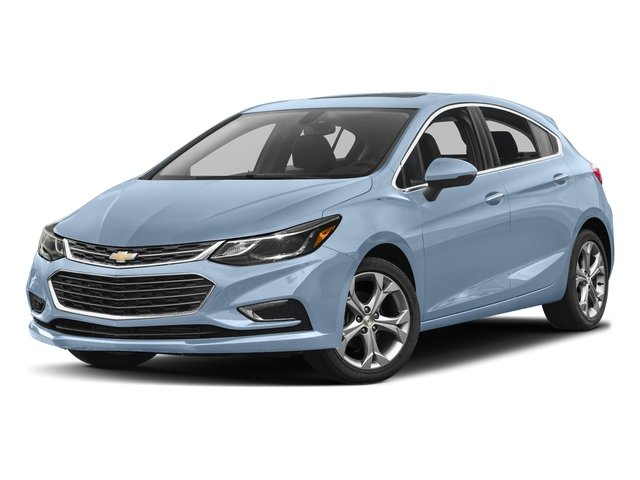 Arctic Blue Metallic 2017 Chevrolet Cruze Pictures Cruze 4dr HB 1.4L Premier w/1SF photos front view
