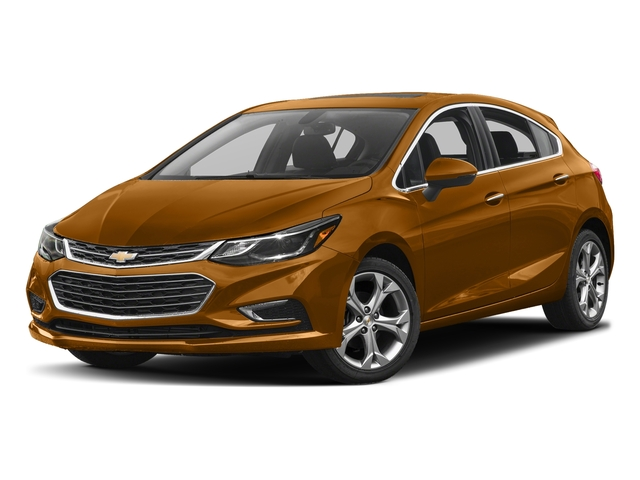 Orange Burst Metallic 2017 Chevrolet Cruze Pictures Cruze 4dr HB 1.4L Premier w/1SF photos front view