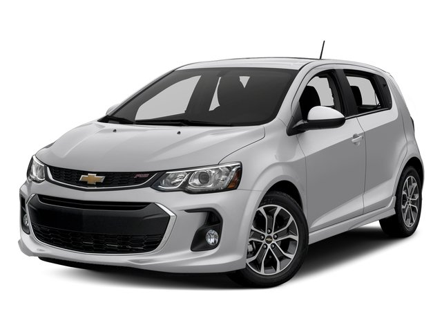 Silver Ice Metallic 2017 Chevrolet Sonic Pictures Sonic 5dr HB Auto LT w/1SD photos front view
