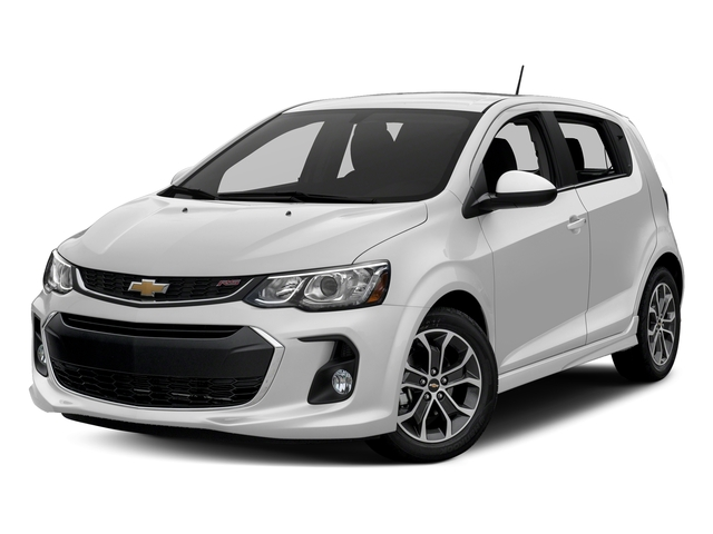 Summit White 2017 Chevrolet Sonic Pictures Sonic 5dr HB Auto LT w/1SD photos front view
