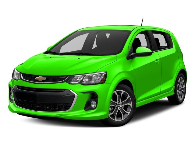 Krypton Green 2017 Chevrolet Sonic Pictures Sonic 5dr HB Auto LT w/1SD photos front view