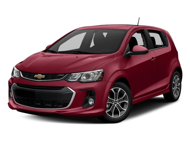 Cajun Red Tintcoat 2017 Chevrolet Sonic Pictures Sonic 5dr HB Auto LT w/1SD photos front view