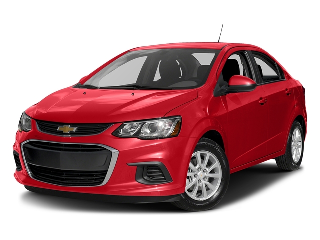 Red Hot 2017 Chevrolet Sonic Pictures Sonic 4dr Sdn Auto Premier photos front view