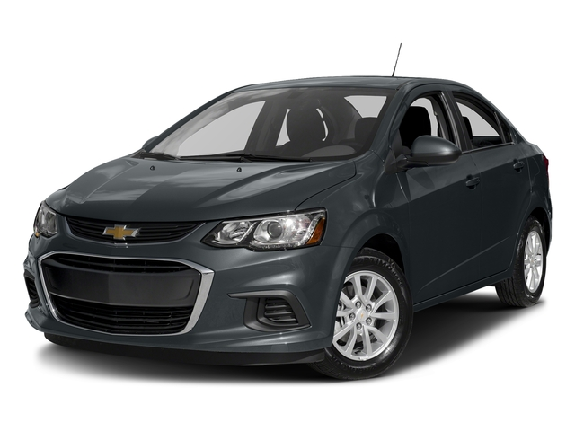 Nightfall Gray Metallic 2017 Chevrolet Sonic Pictures Sonic 4dr Sdn Auto Premier photos front view